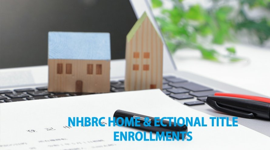 NHBRC HOME & SECTIONAL TITLE ENROLLMENTS
